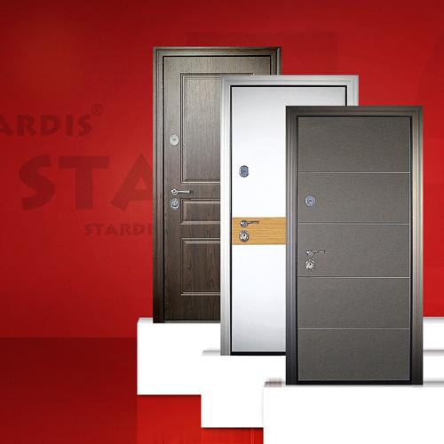 Новые модели входных дверей